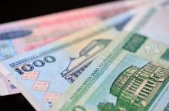 Fond des billets de banque biélorusses Photo stock