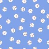 Fond des boules de base-ball Photo libre de droits
