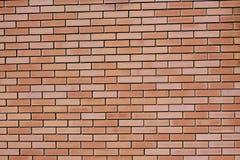 Fond des briques de revêtement rouges Images libres de droits