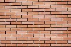 Fond des briques de revêtement rouges Fin vers le haut Photo libre de droits
