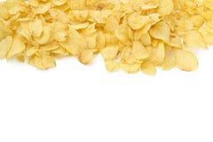 Fond des chips image stock