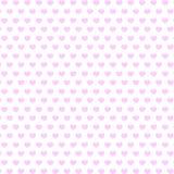 Fond des coeurs roses Photo libre de droits