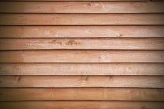 Fond des conseils en bois peints Photographie stock libre de droits