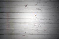 Fond des conseils en bois peints Photo libre de droits