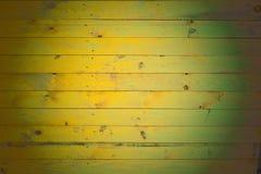Fond des conseils en bois peints Image libre de droits