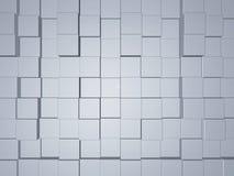 Fond des cubes tridimensionnels Photographie stock