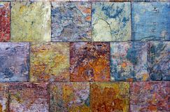 Fond des dalles de granit de texture Images stock