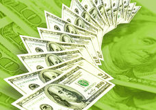 Fond des dollars d'Américains Image stock