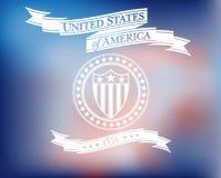 Fond des Etats-Unis d'Amérique Photo libre de droits