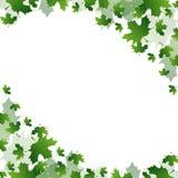 Fond des feuilles Image libre de droits