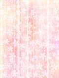 Fond des fleurs roses illustration stock