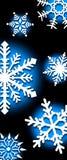 Fond des flocons de neige images libres de droits