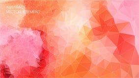 Fond des formes géométriques Rétro triangle Configuration de mosaïque colorée illustration libre de droits
