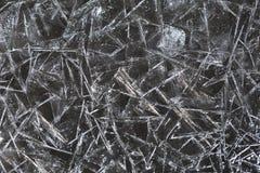 Fond des fragments de la glace Images libres de droits