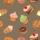 Fond des gâteaux Image libre de droits
