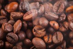 Fond des grains de café Photos stock
