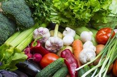 Fond des légumes frais images stock