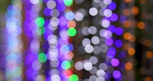 Fond des lumières lumineuses de bokeh clips vidéos