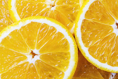 Fond des oranges Photos stock
