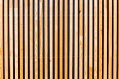Fond des panneaux en bois, lamelles Architecture moderne, urbaine Photographie stock libre de droits