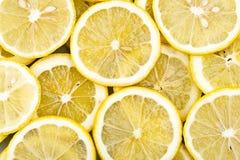Fond des parts de citron Image stock