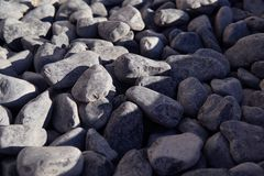 Fond des pierres gris-foncé photo stock