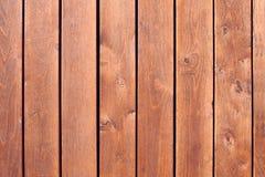 Fond des planches en bois verticales images libres de droits