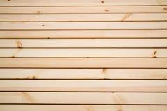 Fond des planches l?g?res du pin, couvertes de vernis protecteur image stock
