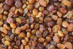 Fond des raisins secs Images libres de droits