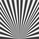 Fond des rayons noirs et blancs illustration stock