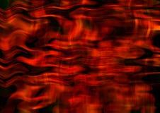 Fond des rayures et des lignes onduleuses rouges de intersection de satin Image libre de droits