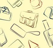 Fond des sacs Photographie stock libre de droits