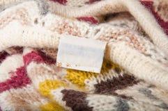 Fond des tissus tricotés Images stock