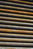 Fond des tuyaux d'acier Photo stock