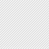 Fond diagonal sans couture blanc de modèle de rayure Images libres de droits