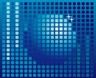 Fond digital de sphère, bille de disco Images libres de droits