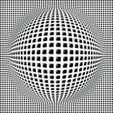 Fond digital de sphère Image libre de droits