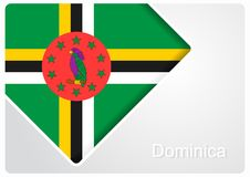Fond dominicain de conception de drapeau Illustration de vecteur illustration stock