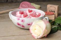 Fond doux d'amour Image stock