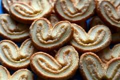 Fond doux de biscuits Photos stock