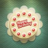Fond doux de petits gâteaux Photos libres de droits