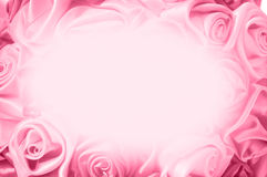 Fond doux des bourgeons roses, un d'un grand ensemble de milieux floraux Photos libres de droits