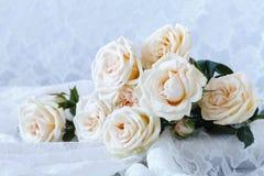 Fond doux pour des cartes et des invitations de mariage Images stock