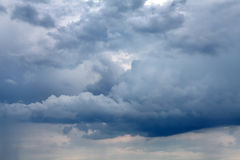 Fond dramatique de cloudscape photo libre de droits