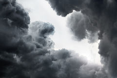 Fond dramatique de cloudscape image libre de droits