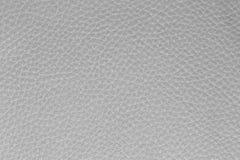 Fond du cuir blanc Photos libres de droits