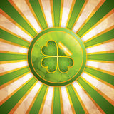 Fond du jour de St Patrick Photo stock