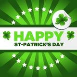 Fond du jour de St Patrick Image libre de droits