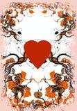 Fond du jour de Valentine Photo stock