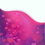 Fond du jour de Valentine Images libres de droits